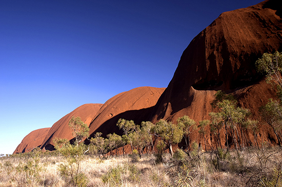 The mighty Uluru (Ayers Rock)