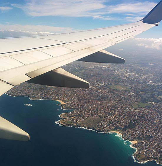 Economy has a good view too. Image: Lauren Burvill