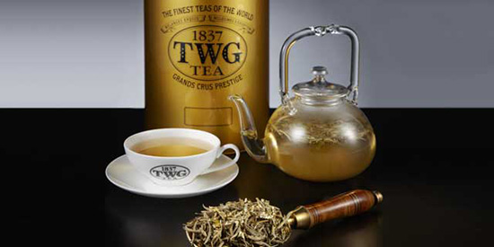 Yellow Gold tea (Image: TWG)