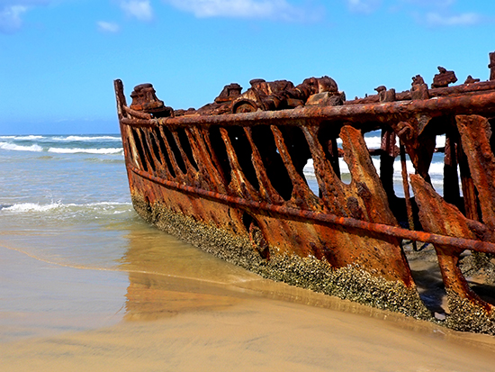 RS 6 Fraser Island Shipwreck