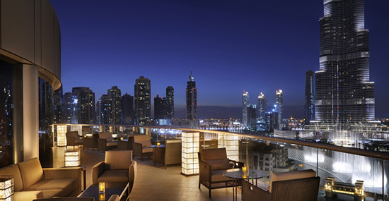 Zeta restaurant, the Address Downtown Dubai