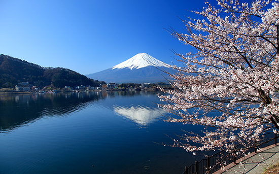RS Mount Fuji, Lake Kawaguchi, Japan