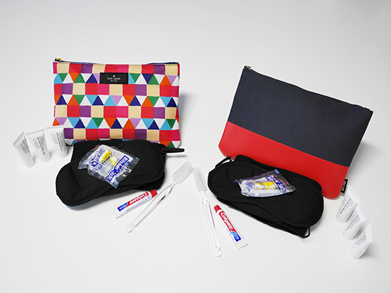 RS Qantas amenity kits