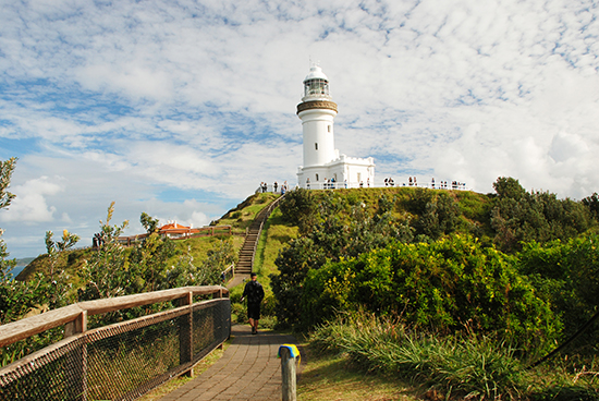 Cape Byron Lighthouse - a great spot for whale watching