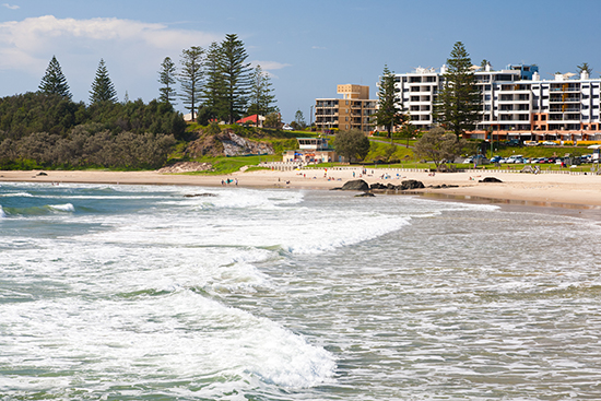 Beach at Port Macquarie