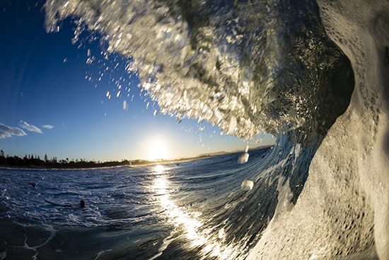 Catch a wave at Byron Bay