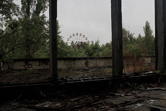 The iconic Chernobyl Ferris wheel (Image: Helen Winter)