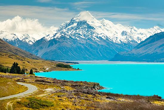 RS Lake Pukaki, Queenstown, NZ shutterstock_186693569