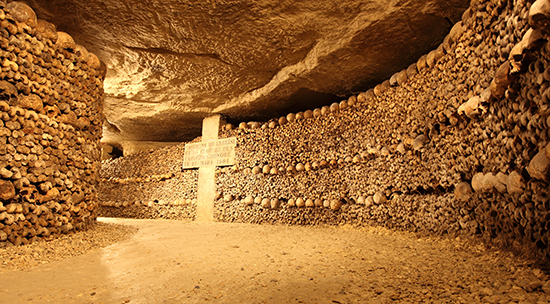 The Parisian Catacombs