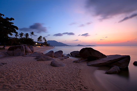 RS Sunrise at Lamai beach, Koh Samui Island, Thailand