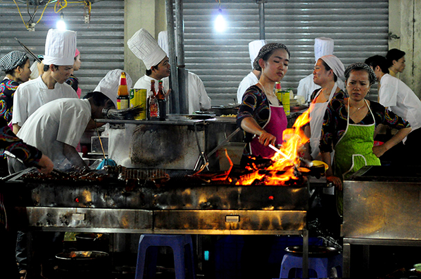 Street cooking-RS