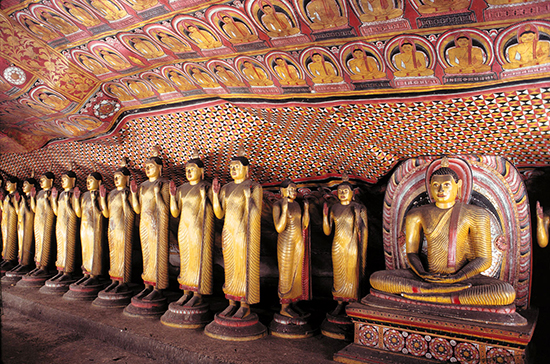 The Dambulla Caves (Image: Sri Lanka Tourism)