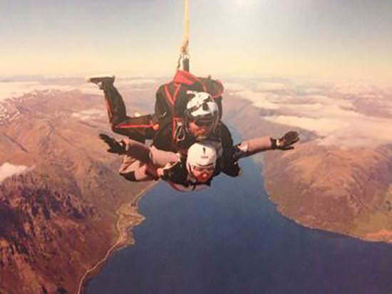 Sky-high in Queenstown (Image: Dominique Kotsias)