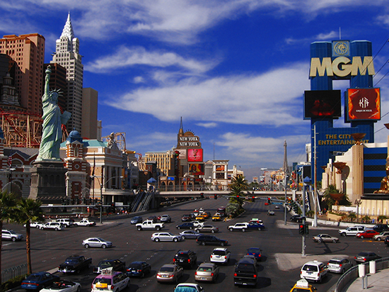 RS Las Vegas - strip in the day