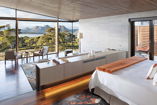 A Luxury Suite at the Saffire Freycinet