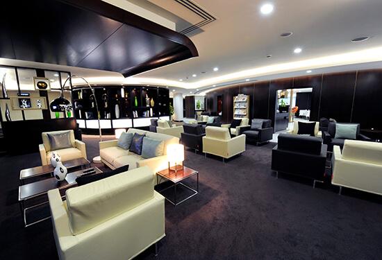 The Etihad Lounge at London Heathrow