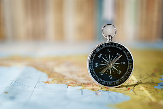 Dust off those orienteering skills and always take a map and compass when hiking