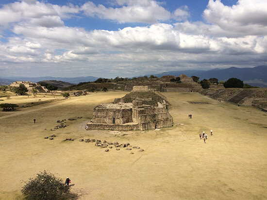 Sweeping view of Monte Alban (Image: Elizabeth James)