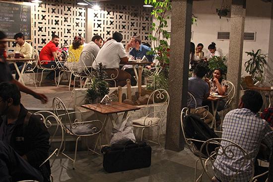 Triveni Terrace Café  (Image: Ross Jennings)
