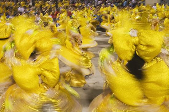 RS Carnaval parade in Rio de Janeiro Brazi