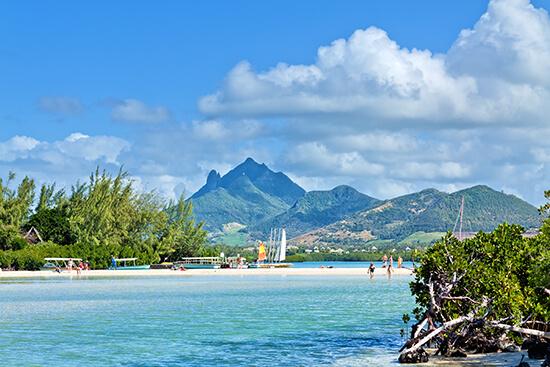 RS Ile aux Cerfs, Mauritius, Africa