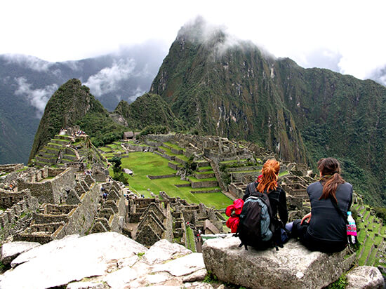 RS Machu Picchu on a cloudy day