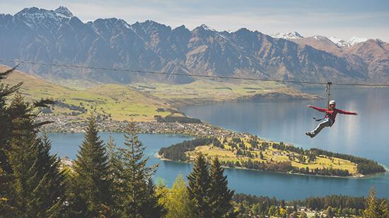 Ziptrek Ecotours, New Zealand