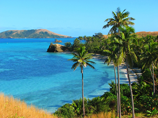 Nacula Island, one of the Yasawa Islands