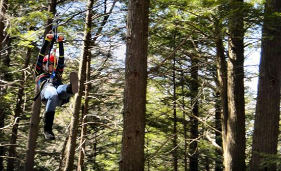 New York Zip-line Canopy Tours