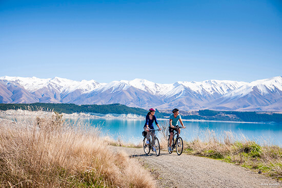 The Alps 2 Ocean Trail, Lake Pukaki (Image: Tourism New Zealand)