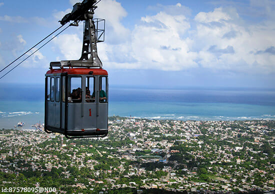 Loma Isabel de Torres cable car, Dominican Republic