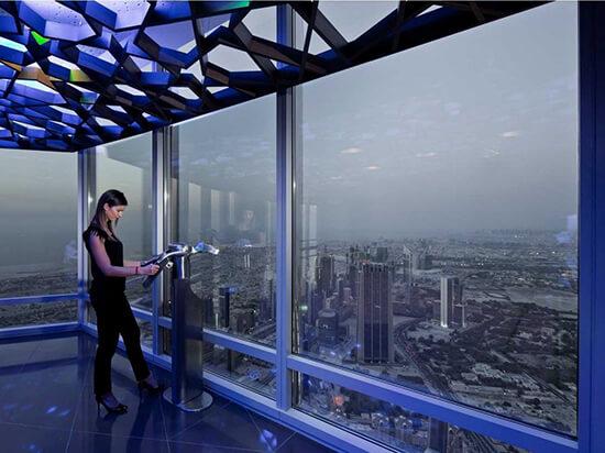 View from Burj Khalifa (Image: Visit Dubai)