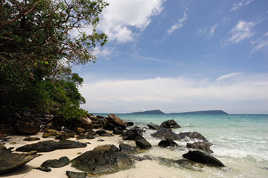 Koh Tang beach