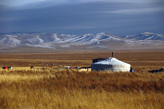 Mongolian yurt