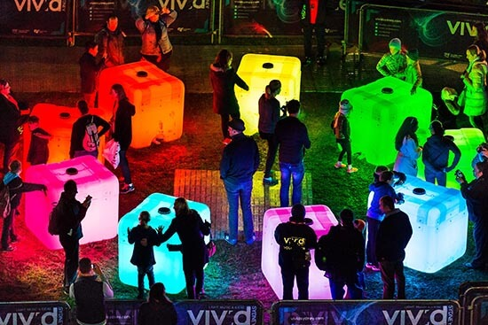 An installation from Vivid Sydney 2015 (Image: Destination NSW)