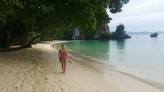 Becky in Krabi (Image: Becky Hales)