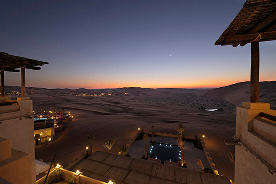 The desert (Image: Qasr Al Sarab Desert Resort)