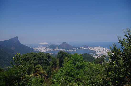 View from the Chinese Pagoda in Tijuca National Park (Image: Chris Steel)