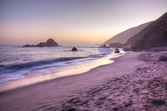 RS Pfeiffer Beach - shutterstock_62298538