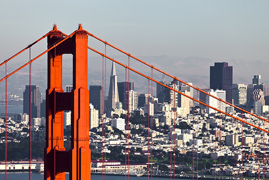 Take the time to visit the rest of California too – especially San Francisco!