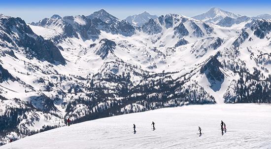 RS skiing Mammoth - shutterstock_28178788