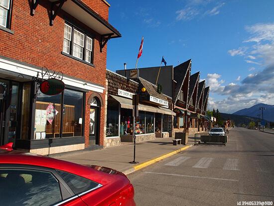 Jasper townsite (Image: Flickr)