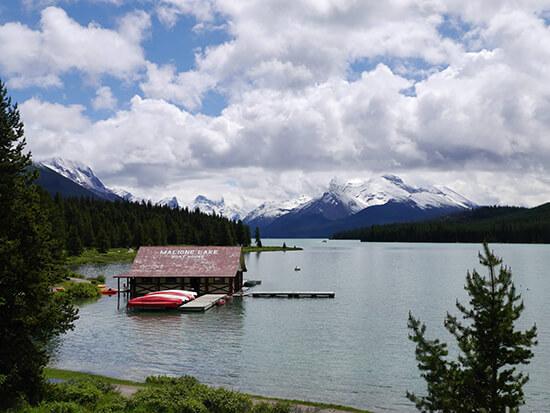 Maligne Lake (Image: Alexandra Gregg)