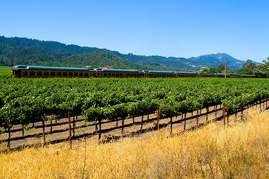 RS Napa Valley Wine Train - shutterstock_4511908