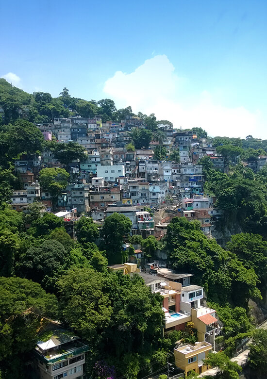Vidigal Favela (Image: Chris Steel)