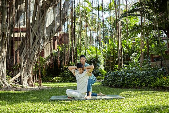A Thai massage at Chiva-Som