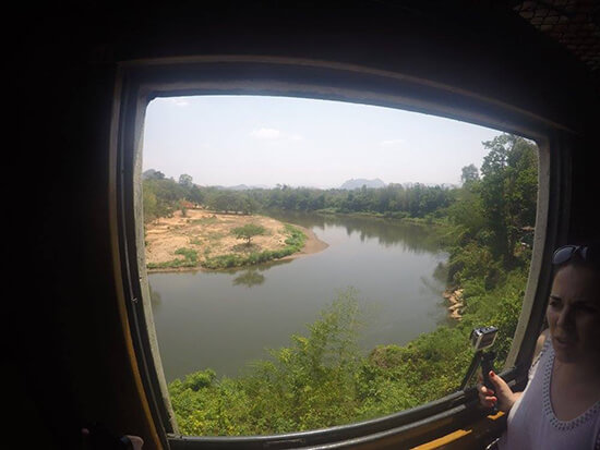 View from the train  (Image: Tom Grapes)