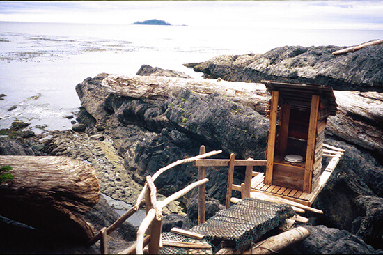Outhouse, British Columbia, Canada (Image: Chris Kolaczan/Lonely Planet)