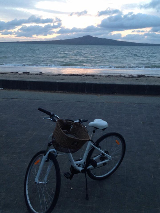 Rangitoto in the distance (Image:)