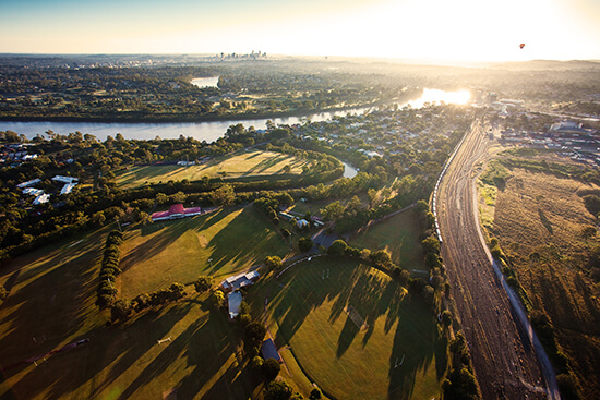 Hot-air ballooning over Brisbane - a Travel Butler-recommended experience